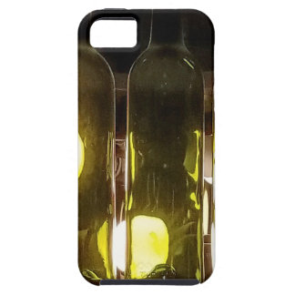 Artistic Funky Masculinev Wine Bottle iPhone 5 Cover