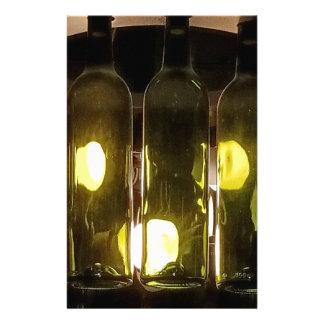 Artistic Funky Masculinev Wine Bottle Stationery