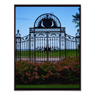Artistic Gate Photo Print