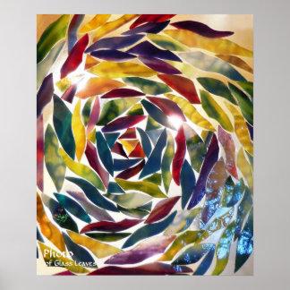 Artistic Glass Photo Modern Art Wallpaper Poster