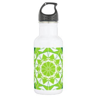 Artistic green mandala