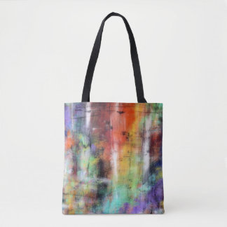 Artistic Grunge Tote Bag