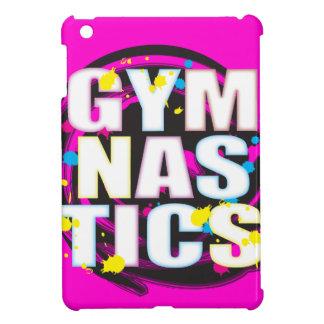 Artistic Gymnastics Paint Pink iPad Mini Covers