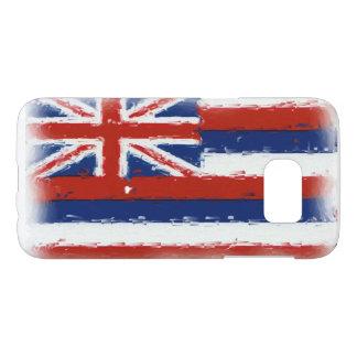 Artistic Hawaii flag Samsung Galaxy S7 phone case