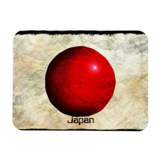 Artistic Japanese Flag Nihon Magnet