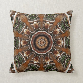 Artistic Jungle. Throw Pillow