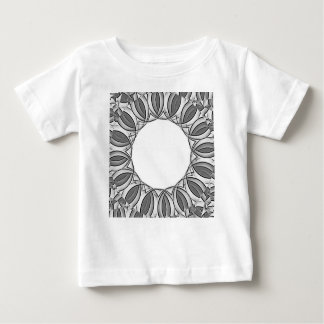 artistic kaleidoscope background baby T-Shirt