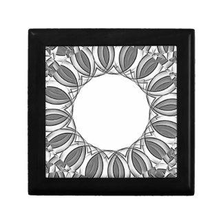 artistic kaleidoscope background gift box