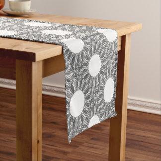 artistic kaleidoscope background short table runner