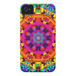 Artistic Kaleidoscope iPhone 4 case