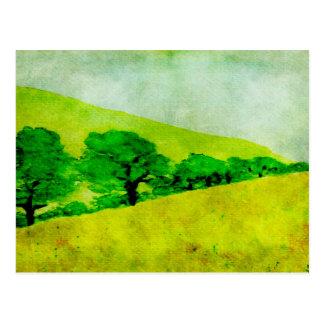 Artistic Landscape Postcard