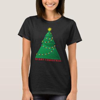 Artistic Merry Christmas Tree T-Shirt