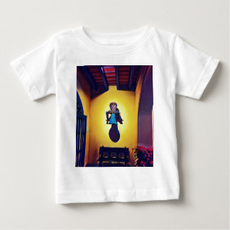 Artistic Mounted Bell Naive Of Church Baby T-Shirt