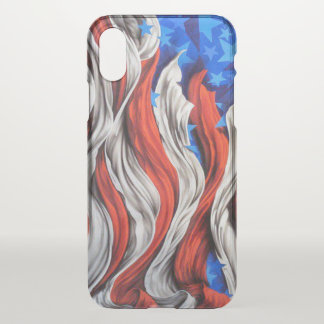 Artistic Old Glory iPhone X Case