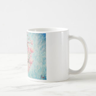 Artistic Painting mug with Ipê Rosa