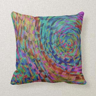 Artistic Pallet Throw Pillow