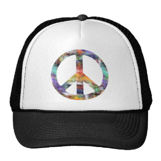 Artistic Peace Sign Hats