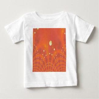 Artistic Peach Yellow Suns Fantasy Worlds Baby T-Shirt