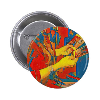Artistic Physic Tarot Reading 2 Inch Round Button
