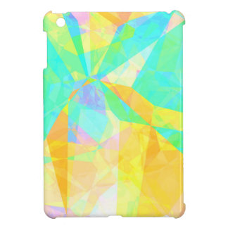 Artistic Polygon Painting Abstract Background Art iPad Mini Case