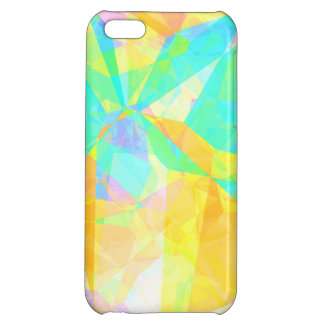 Artistic Polygon Painting Abstract Background Art iPhone 5C Case