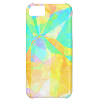 Artistic Polygon Painting Abstract Background Art iPhone 5C Cover