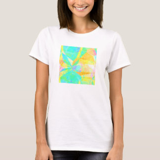 Artistic Polygon Painting Abstract Background Art T-Shirt