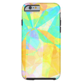 Artistic Polygon Painting Abstract Background Art Tough iPhone 6 Case