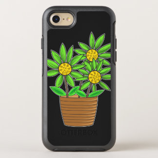 Artistic Potted Sunflowers OtterBox Symmetry iPhone 7 Case