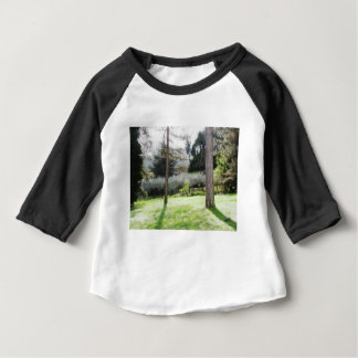 Artistic representation of tuscan countryside baby T-Shirt