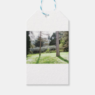 Artistic representation of tuscan countryside pack of gift tags