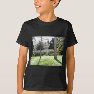 Artistic representation of tuscan countryside T-Shirt
