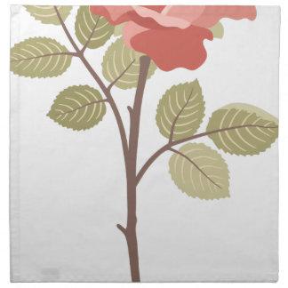 Artistic Rose Napkin