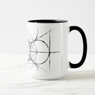 Artistic Sacred Geometry Metatron's Cube drinkware Mug