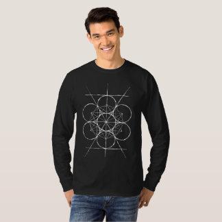 Artistic Sacred Geometry Metatron's Cube shirt