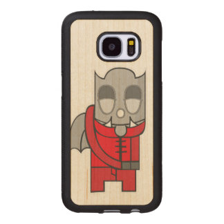 Artistic Shy Little Devil Wood Samsung Galaxy S7 Case