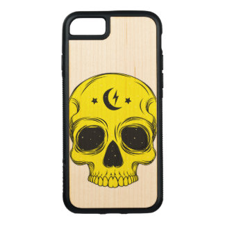 Artistic Skull (blue) Carved iPhone 8/7 Case