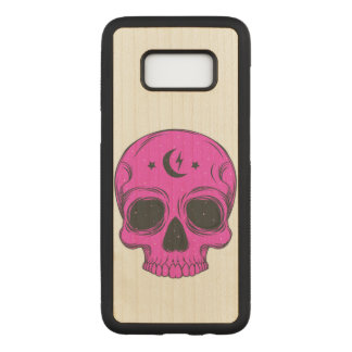 Artistic Skull Carved Samsung Galaxy S8 Case
