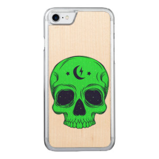 Artistic Skull Illustration Carved iPhone 8/7 Case