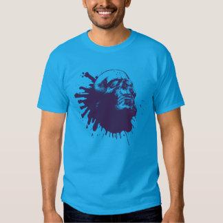 Artistic Skull Splatter T-shirt