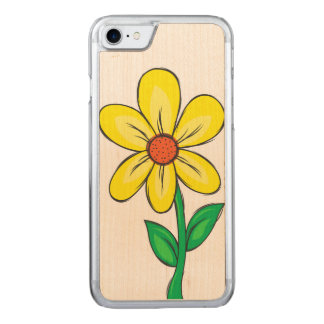 Artistic Spring Flower Carved iPhone 8/7 Case