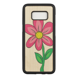 Artistic Spring Flower Carved Samsung Galaxy S8 Case
