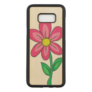 Artistic Spring Flower Carved Samsung Galaxy S8+ Case