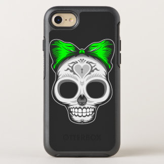 Artistic Sugar Skull OtterBox Symmetry iPhone 7 Case