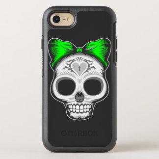 Artistic Sugar Skull OtterBox Symmetry iPhone 8/7 Case