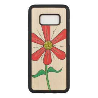 Artistic Summer Flower Carved Samsung Galaxy S8 Case