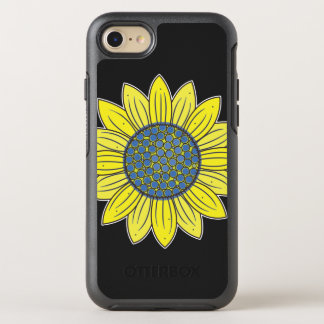 Artistic Sunflower OtterBox Symmetry iPhone 7 Case