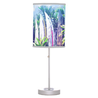 Artistic Surfboard Fence Table Lamp