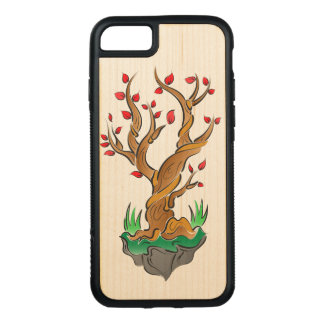Artistic Tree Illustration Carved iPhone 8/7 Case