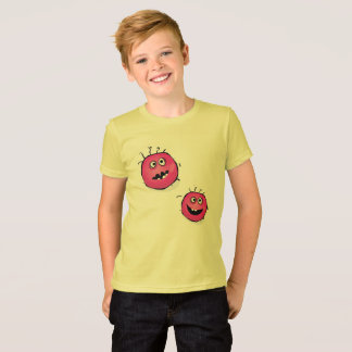 Artistic Tshirt for Boy with GERMS PINK